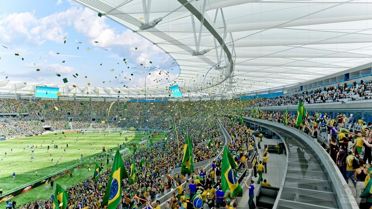 这与巴西世界杯注重环保的理念背道而驰