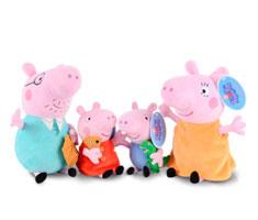 佩佩猪毛绒玩具