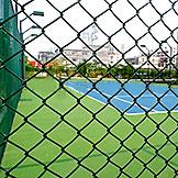 篮球场包塑勾花网