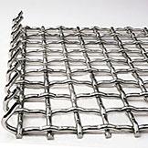 不锈钢编织轧花网