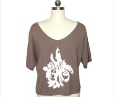 春夏季女装短袖针织衫