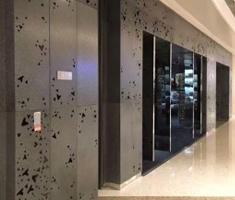 酒店大堂铝单板装饰