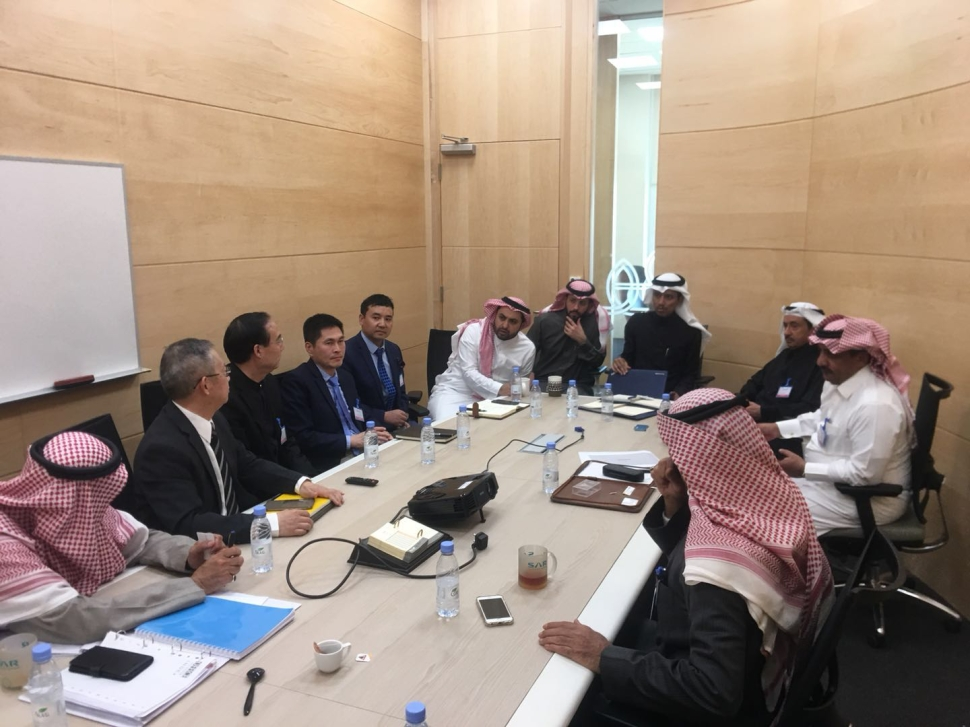 JSG Business Activities with Saudi National Railway Co.
