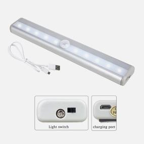 usb充电led人体感应灯