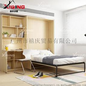 单人折叠壁柜床