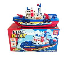 电动消防船