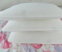 3D网眼布枕芯面料凉爽