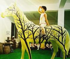 大马园林景观雕塑