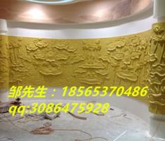 深圳酒店大堂砂岩透光装饰